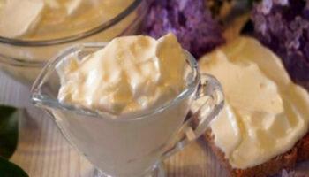 Домашній майонез на молоці - рецепт приготування