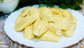 Ліниві вареники з сиром - рецепт приготування