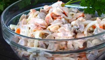 Салат з 3 продуктів, рецепт приготування