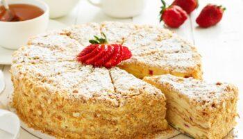Рецепт бездоганного сирного «Наполеона»