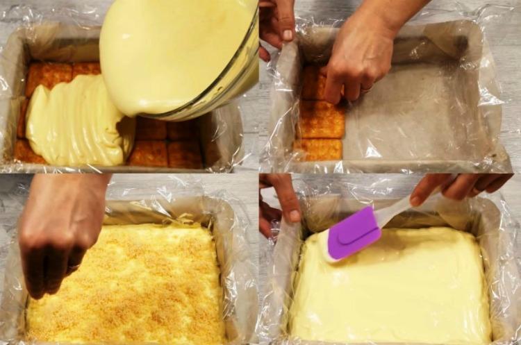 Вишуканий торт без випічки «Сніжний пух»