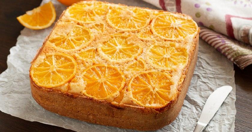Апельсиновий пиріг - рецепт приготувння