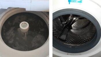 Як правильно почистити пральну машинку
