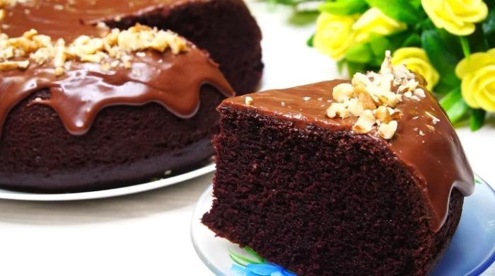 Ідеальний шоколадний бісквіт на кип'ятку