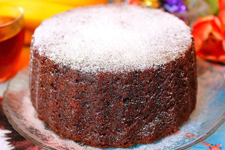 Пісний кекс на варенні - ароматний, ситний і смачний