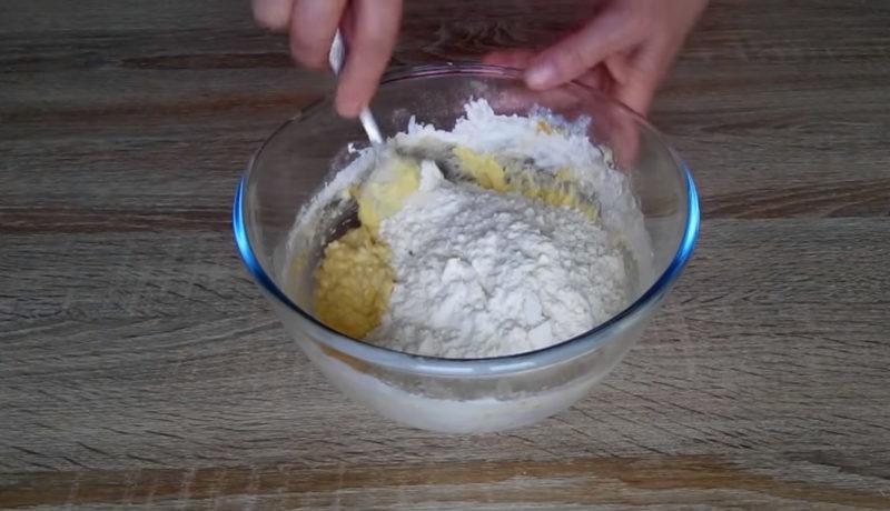 Оригінальний рецепт: печиво з яблучно-горіховою начинкою