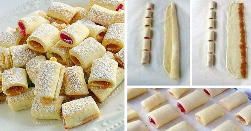 Домашнє печиво з повидлом, рецепт приготування
