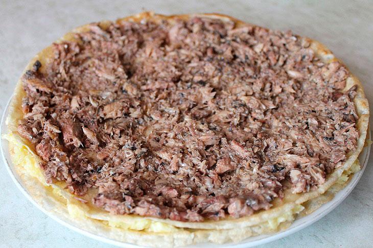 Млинцевий торт «Мімоза» - ніжний, соковитий і незрівнянно смачний