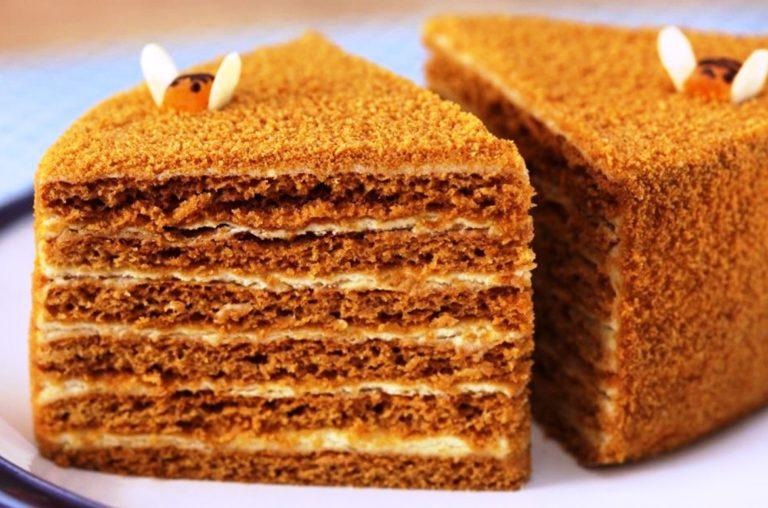 Ніжний медовий торт «Рижик» - рецепт приготування
