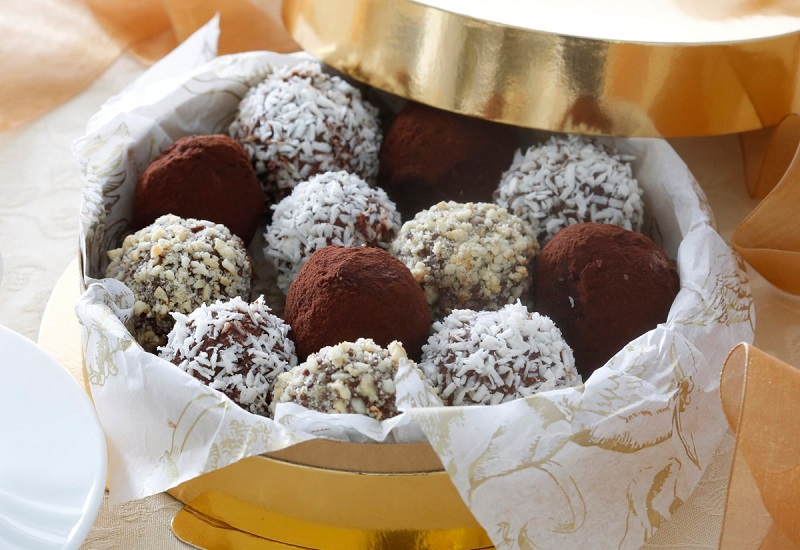 Рецепт смачних цукерок з какао «Трюфеліна»