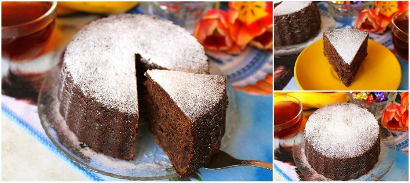Пісний кекс на варенні - рецепт приготування