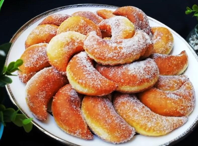 Солодкі пончики - детальний рецепт