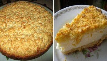 Тертий пиріг з сиром - рецепт приготування