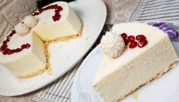 Торт «Рафаелло» без випічки, рецепт приготування