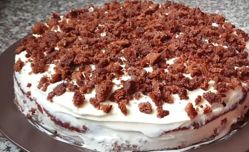 Торт «Три склянки» - рецепт приготування