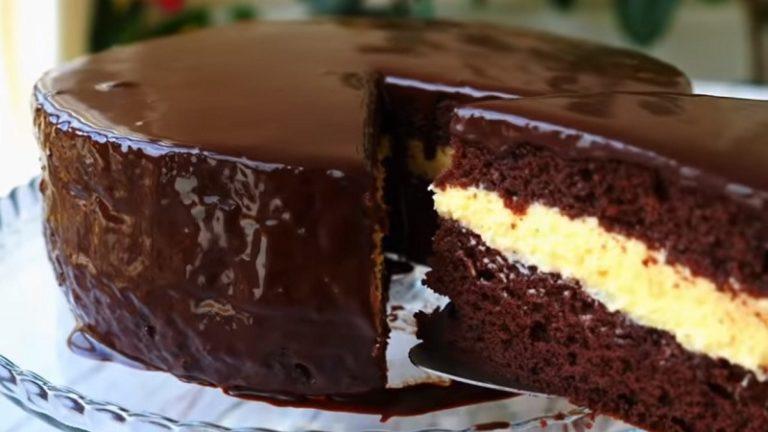Шоколадний торт «Ескімо» - рецепт приготування
