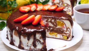 Шоколадний торт із млинців - детальний рецепт