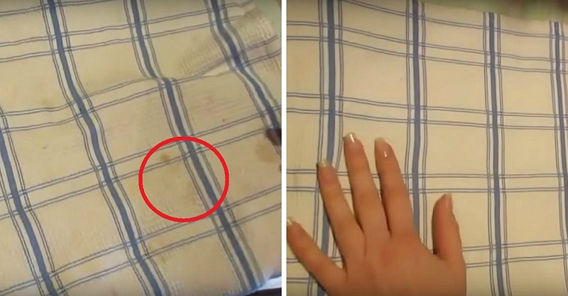 Як відбілити рушники навіть від найстаріших плям