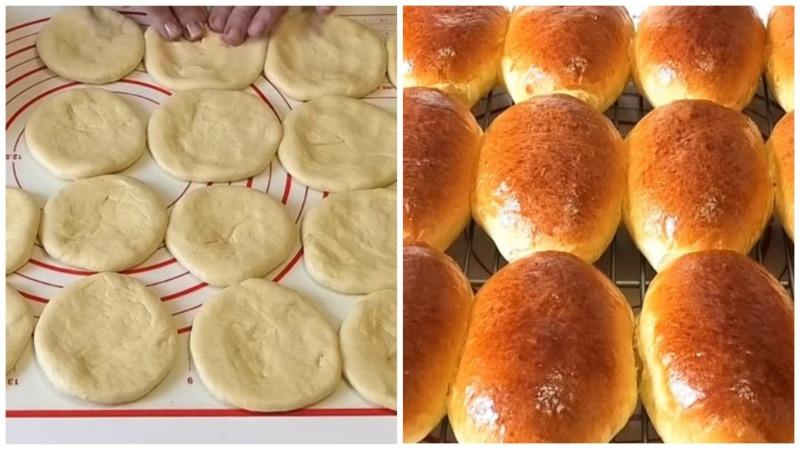 Домашні пиріжки з пишного тіста - рецепт приготування