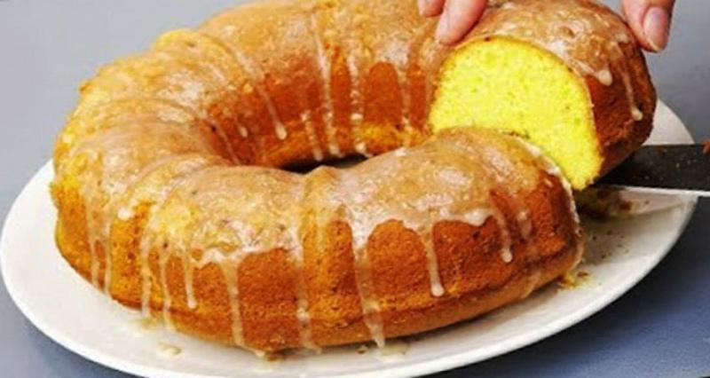 Лимонний кекс «Святковий» - рецепт приготування