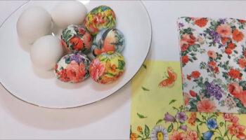 Оформлення Великодніх яєць - цікавий метод