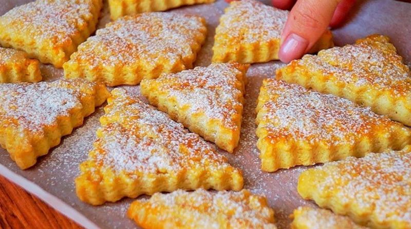 Печиво на сметані - рецепт приготування