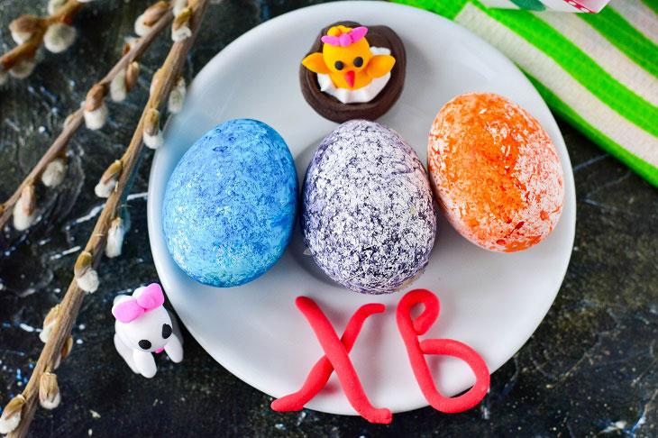 Як пофарбувати яйця рисом - оригінальний і простий метод