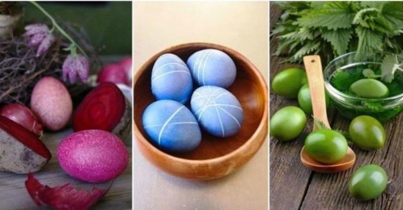 Писанки - природні барвники для яєць