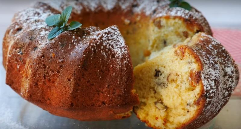 Простий кекс - рецепт приготування