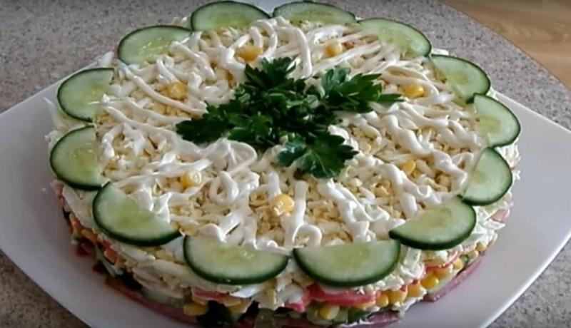 Салат «Новинка» - рецепт