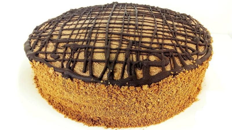 Смачний тортик «Празький» - рецепт приготування
