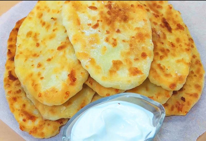 тонкі пиріжки з картоплею - рецепт приготування