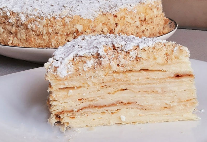 Торт Наполеон - рецепт приготування