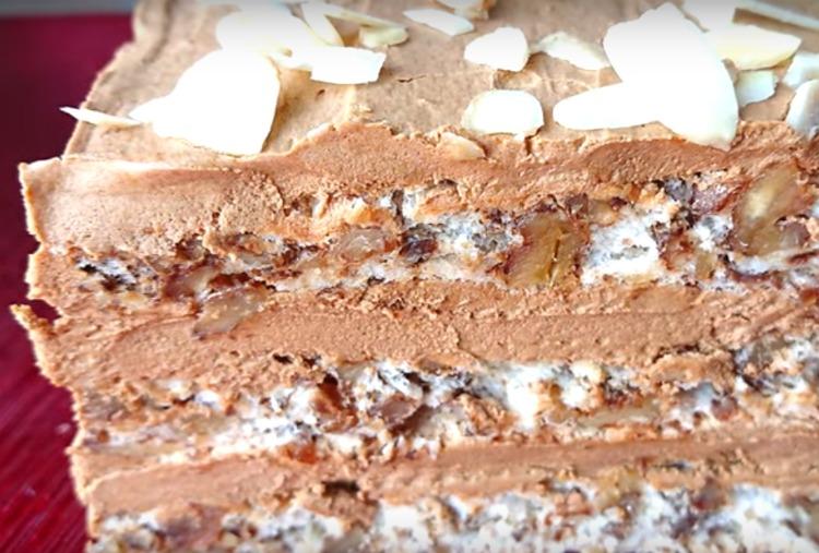 Як приготувати смачний торт без борошна і печива