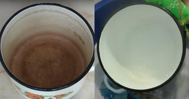Емальований посуд - як правильно очищати
