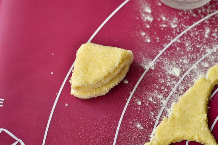 Печиво «Поцілуночки» з сиром - м'яке і повітряне