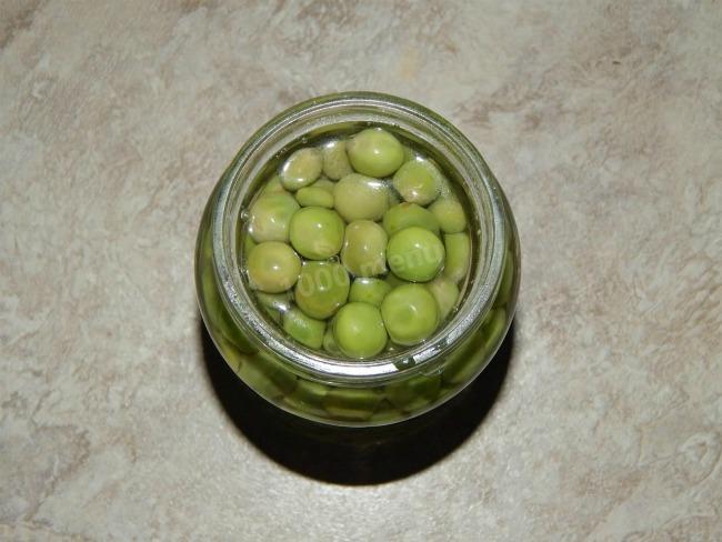 Маринований горох на зиму, домашній рецепт з фото