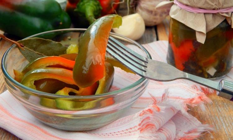 Маринований перець - рецепт приготування