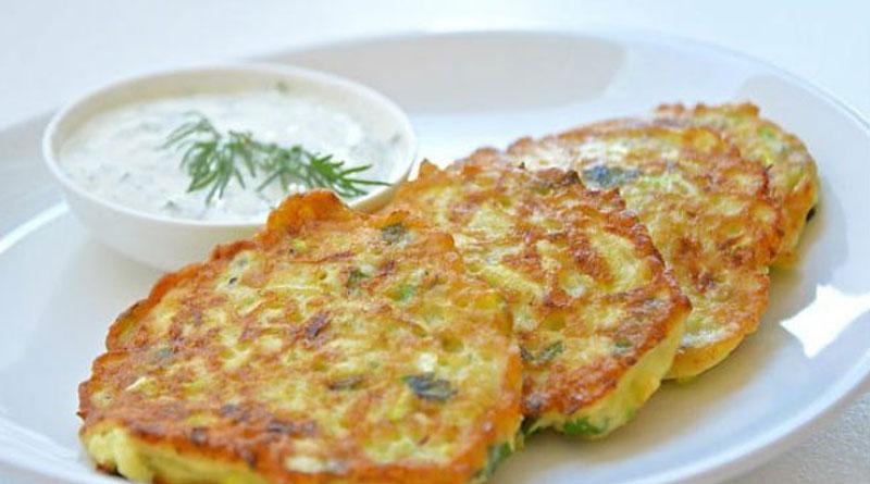 Оладки з кабачків і сиру - рецепт приготування