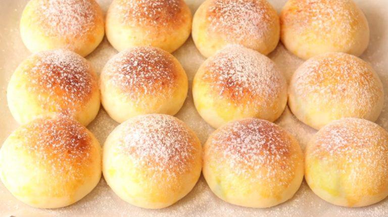 Сирні булочки на бездріжджовому тісті, рецепт приготування