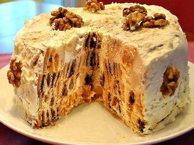Торт «Трухлявий пень» - рецепт приготування