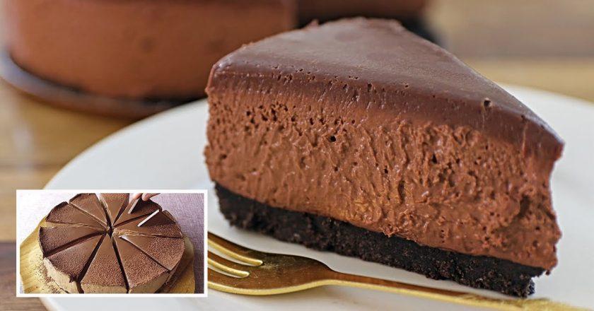 Шоколадний чизкейк без випічки - рецепт приготування