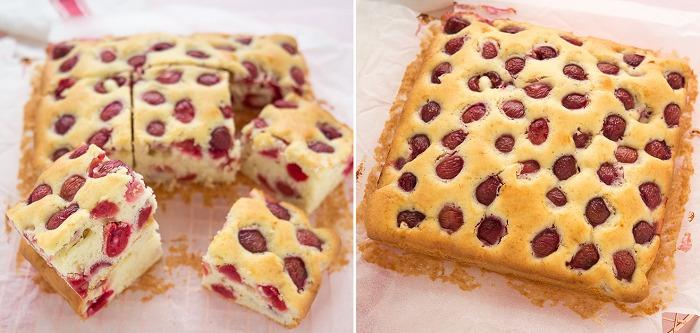 Вишневий пиріг - рецепт приготування