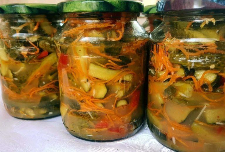 Заготівля з огірків на зиму - рецепт приготування