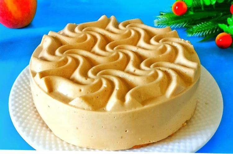 Кавовий торт Капучіно - рецепт приготування
