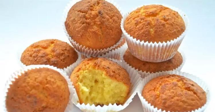 Сирні кекси - рецепт приготування