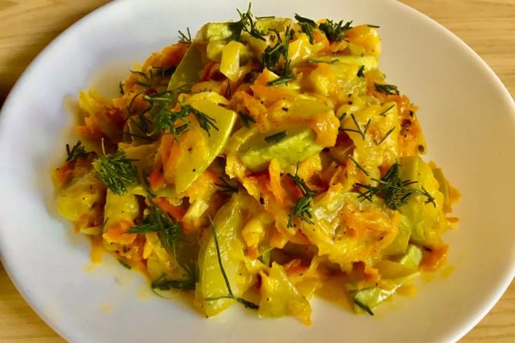 Смачна страва з молодих кабачків - рецепт приготування