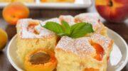 Секрет смачного абрикосового торта – в ніжному запеченому кремі