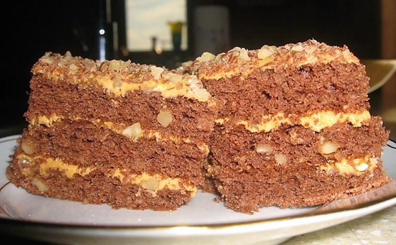 Торт «Золотий ключик» - рецепт приготування