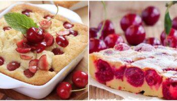 Як тільки достигає вишня, печу французький пиріг: діти з'їдають весь, до останньої крихти